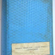 Ceramica nesmaltuita-centre arhaice si contemporane - lot 36 diapozitive - 1980