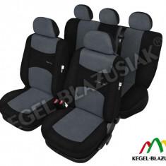 Set huse scaune auto SportLine Gri pentru Volkswagen Golf 2 Golf 3 Golf 4 Golf 5 Golf Plus - Husa Auto