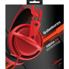 Casti Gaming Steelseries Siberia 200 Forged Red - Jocuri PC