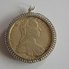 Moneda argint 1 taler -1780 restrike, Europa