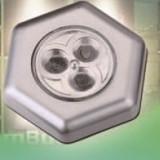 Instalatie electrica Craciun - Flink Lumina veghe 3 LED-uri hexagonala