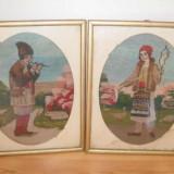 Tapiterie Goblen - Tablouri goblen vechi anii 40- 45