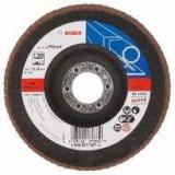Disc de slefuire evantai Bosch X551 Expert for Metal 125 mm 2223 mm 60