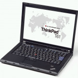 Laptop Lenovo T61, Core 2 Duo T7700, 2.4Ghz, 3Gb DDR2, 80Gb HDD, DVD-RW, 12331, Thinkpad, Intel Core 2 Duo, 2001-2500 Mhz, Sub 15 inch