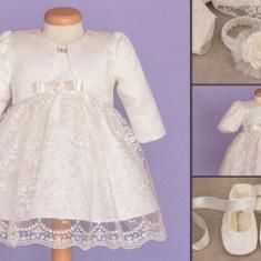 Set botez Baby Lace (Imbracaminte pentru varsta: 18 - 24 luni - 89 cm)