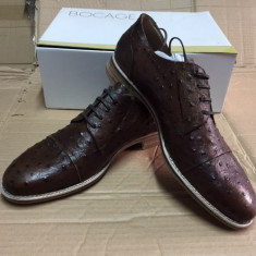 Pantofi barbati, Piele naturala - Pantofi PIELE NATURALA andre marime 45 maro