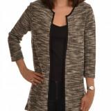 Cardigan cu maneca 3/4 Vero Moda - art. 10162253 alb negru - Bluza dama, Marime: XS, S, M, L
