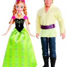 Papusi Disney Frozen Anna And Kristof Bdk35 - Papusa