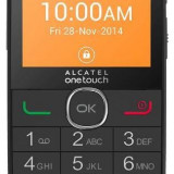 Alcatel One Touch 2004c cu camera 2 MP Black