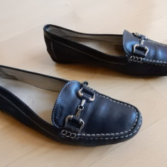 Pantofi Geox Respira din piele naturala; marime 39 1/2 - Pantofi dama, 39.5, Din imagine