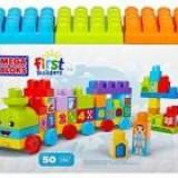 Set Mega Bloks FIRST BUILDERS - 123 LEARNING TRAIN -