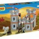 Set constructie Unico Plus Castel medieval 168 piese - Jocuri Seturi constructie