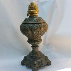 Lampa de birou cu petrol - antimoniu sec .19
