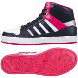 Bascheti originali Adidas BBNEO - Adidasi dama, Marime: 38, 38 2/3, Culoare: Din imagine, Piele naturala