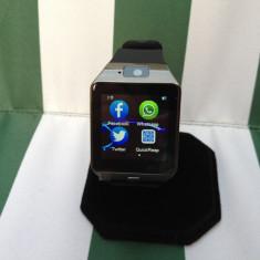 Smartwatch Apple ceas inteligent telefon SIM GSM WOD DZ09 Black Android, IOS