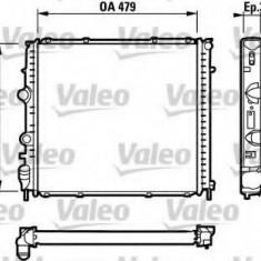 Radiator, racire motor RENAULT KANGOO 1.9 RXED - VALEO 731910 - Radiator racire Bosch