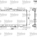 Radiator, racire motor TOYOTA COROLLA Liftback 1.6 - VALEO 732561 Bosch