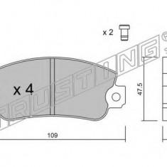 Placute frana INA FIAT STRADA I 60 1.0 - TRUSTING 035.1