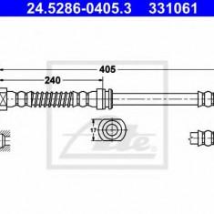Furtun frana REINZ KIA SPORTAGE 2.0 CRDi 4WD - ATE 24.5286-0405.3