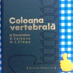 Coloana vertebrala N Diaconescu - Carte Recuperare medicala