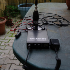 Statie radio STORM Defender + Antena SIRIO 2003 mm cu talpa magnetica 17 cm