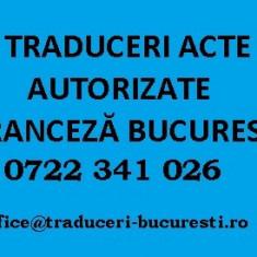 Traduceri acte franceză