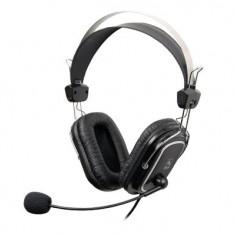 Casti A4Tech HS-50 Stereo, microfon, negre - Casti PC