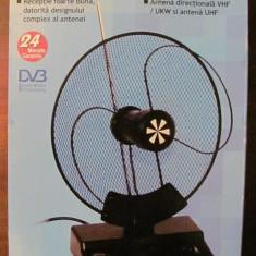 GE - Antena de interior ELTA DVB fabricata in Germania, Antene rotunde