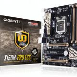 Placa de baza Gigabyte X150M-Pro ECC, socket LGA1151, Intel C232, micro-ATX