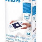 Philips Sac de praf Philips S-Bag FC8021/03, 4 bucati - Saci Aspiratoare
