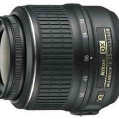 Obiectiv foto DSLR Nikon Standard Zoom 18-55mm f/3.5-5.6G AF-S DX VR - Obiectiv DSLR