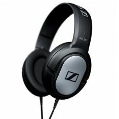 Casti Sennheiser HD 201 Headphones, negre - Casti PC