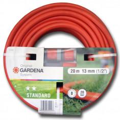 Gardena Furtun standard, 20 m, 13 mm, si conectori - Stropitoare gradina