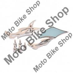MBS Set oglinzi chopper romb-crom,M8-M10, Cod Produs: MBS180221