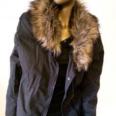 Geaca cu blanita H&M marimea 40 - Geaca dama H&m, Culoare: Din imagine