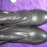 Botine - Botine dama, Culoare: Negru, Marime: 39