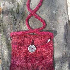 Traista tricotata - Geanta handmade