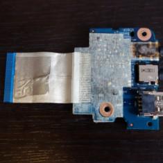 Modul audio + USB laptop Acer Aspire 3830T TG ORIGINAL! Foto reale!