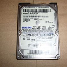 HDD laptop Samsung 40GB, Sub 40 GB, IDE