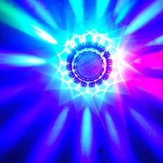 Disco led sun / soare nou jocuri de lumini - Lumini club
