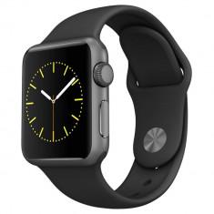 Smartwatch Apple Watch Sport 38mm Space Gray Aluminum Case Black Sport Band