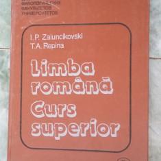 LIMBA ROMANA CURS SUPERIOR - REPINA, ZAIUNCIKOVSKI