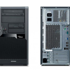Calculator second hand Fujitsu P5730 Dual Core E5400 2.7 GHz 2GB DDR2 160GB HDD Sata RW Tower - Sisteme desktop fara monitor