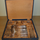 Set tacamuri placate cu argint 24 piese/set - Rusia (2 seturi)