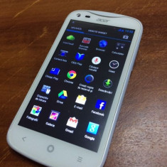 Telefon Acer Liquid E2 Alb, Dual Sim, Garantie - Telefon mobil Acer, Neblocat