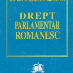 Mihai Constantinescu - Drept parlamentar romanesc - 686084 - Carte Drept administrativ