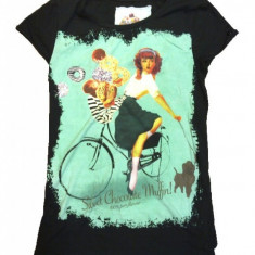 Tricou trendy - Tricou dama Wrangler, Marime: 36, Culoare: Alta