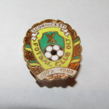 Insigna fotbal - FC OLT SCORNICESTI (aniversare 10 ani 1972-1982)