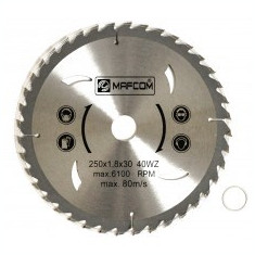 Panza circulara placata 300 x 30 mm 60Z MAF