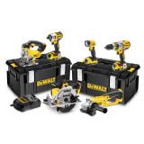 Dewalt DCK694P3 XR 18v Kit 6 Scule Brushless cu 3 acumulatori de 5Ah